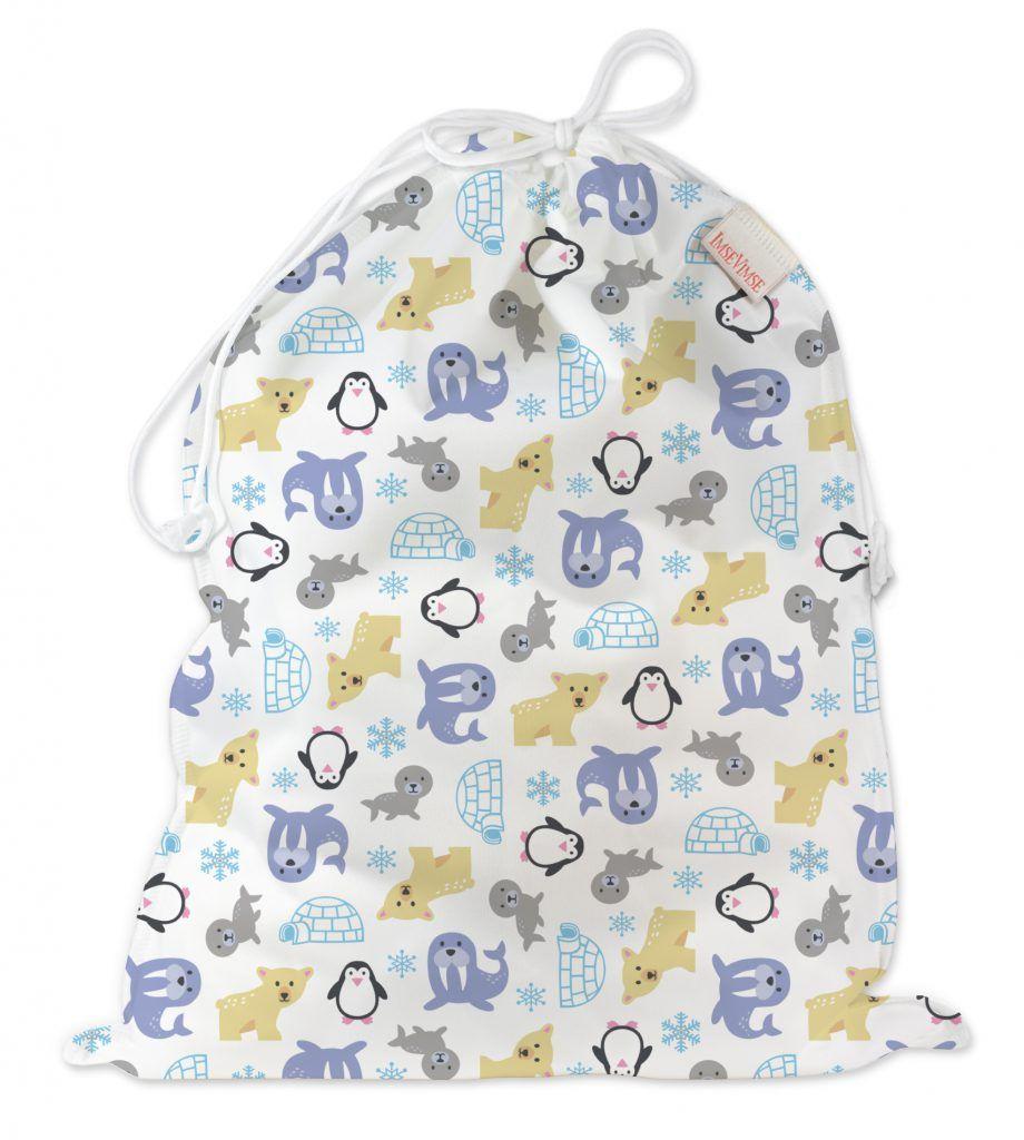 ImseVimse Водонепроницаемая сумка со шнуром Snowland - Все для детского кормления