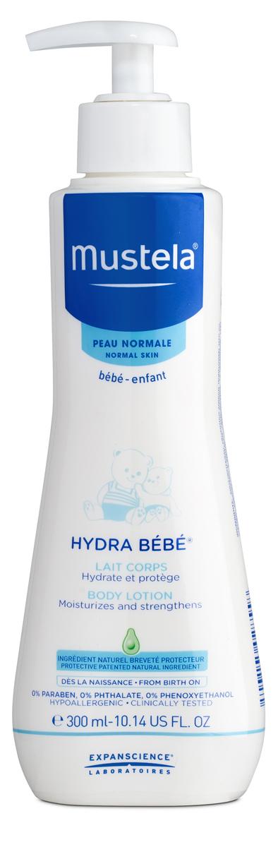 MUSTELA BEBE Молочко для тела увлажняющее Hydra-Bebe детское, 300 млМ216Крем детский для тела увлажняющий Mustela разработан для ежедневного увлажнения и укрепления кожималыша с рождения. Разработан для минимизации рисков аллергических реакций.Запатентованный природный компонент Avocado Perseose способствует укреплению кожного барьера малыша и сохранению клеточных ресурсов его кожи. Способствует быстрому увлажнению кожи. Приоритет отдается ингредиентам природного происхождения.