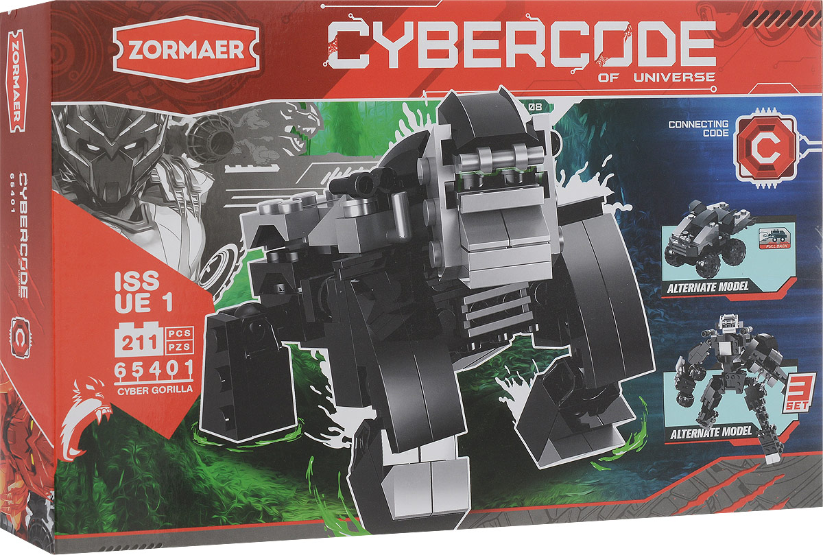 Zormaer Конструктор Cyber Gorilla sony cyber shot wx500 примеры фото