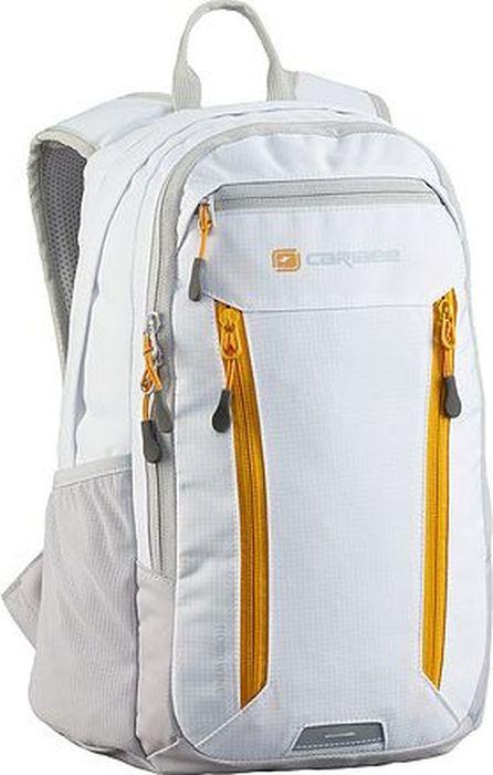 Рюкзак Caribee Hoodwink, цвет: белый, 16 л60552Компактный городской рюкзак Caribee Hoodwink оснащен несколькими отделениями и мягкой системой подвески. Передние карманы на молнии отлично подойдут для телефона и для ключей.Особенности модели:- спинка рюкзака имеет удобное строение и мягкую обивку,- лямки S-образной формы можно адаптировать под рост за счет подвесной системы,- материал устойчив к перепадам температуры и света, ультрафиолета и влаги.