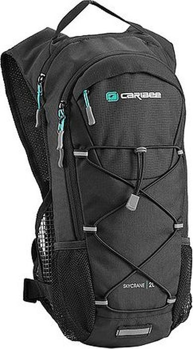 Рюкзак под гидратор Caribee Skycrane, 2 л6327Гидратационный рюкзак Caribee Skycrane предназначен для треккинга, велотуризма или пешеходного похода в жаркое время года.Особенности модели:- спинка рюкзака мягкая, обшита дышащим материалом,- подвесная система регулируется по высоте,- основное отделение оснащено встроенным органайзером,- потайной карман на молнии и боковые карманы подойдут для хранения маленьких вещей,- дополнительно рюкзак оснащен петлей для крепления фонарей,- нагрудная стяжка регулируется по высоте,- рюкзак имеет двух литровый резервуар для воды, гидрационный рукав которого устойчив от перегибов.