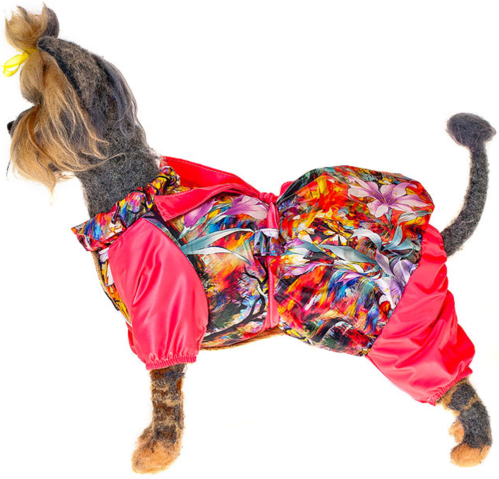 "Плащ для собак Happy Puppy ""Муза"", унисекс. Размер XL"