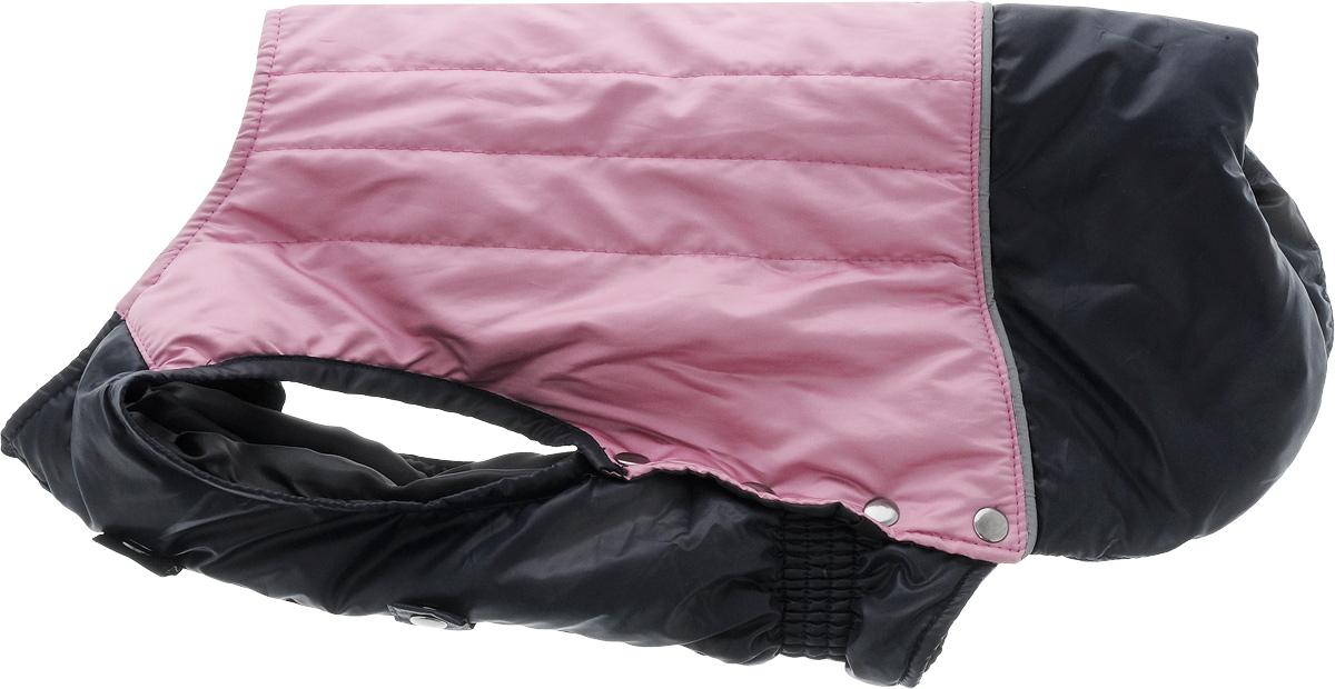 Попона для собак Yoriki, унисекс. Размер 36. 456-36456-36Попона для собак Yoriki отлично подойдет для прогулок в холодное время года. Попона изготовлена из водоотталкивающего полиэстера, защищающего от ветра и осадков. Утеплитель из вискозы и синтепона сохранит тепло и обеспечит уют во время зимних прогулок.Попона не имеет рукавов, поэтому не ограничивает свободу движений, и собака будет чувствовать себя в ней комфортно. На животе имеется застежка молния, вшитая эластичная резинка и дополнительные хлястики на кнопках. Светоотражающие элементы обеспечивают безопасность в темное время суток.Благодаря такой попоне питомцу будет тепло и комфортно в холодное время года.Длина спины: 36 см.Одежда для собак: нужна ли она и как её выбрать. Статья OZON Гид