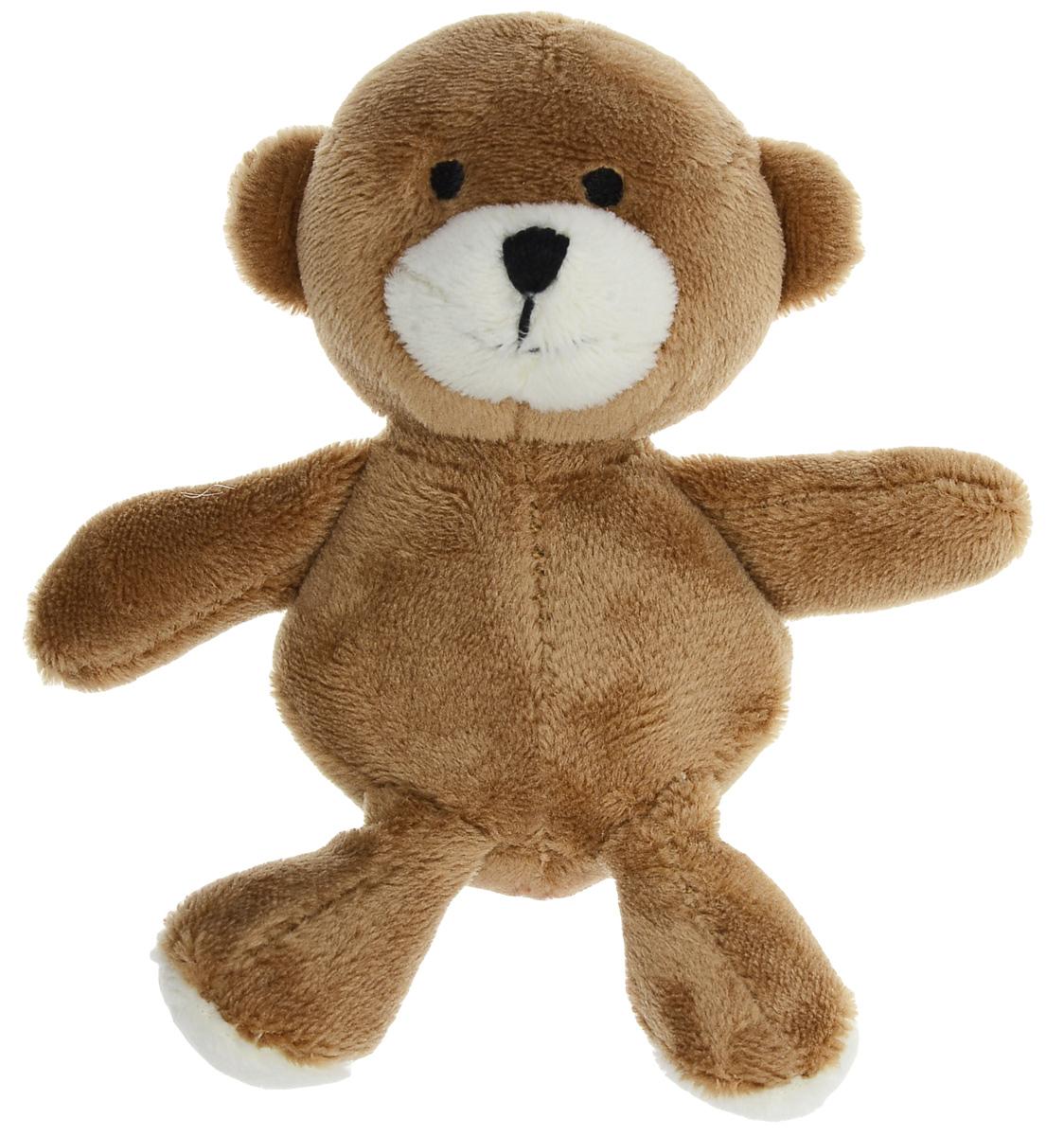 Игрушка для собак GiGwi Медведь, с пищалкой, длина 11 см медведь будоражить boonic медведи плюшевые игрушки куклы несут большое количество стоящих 48cm