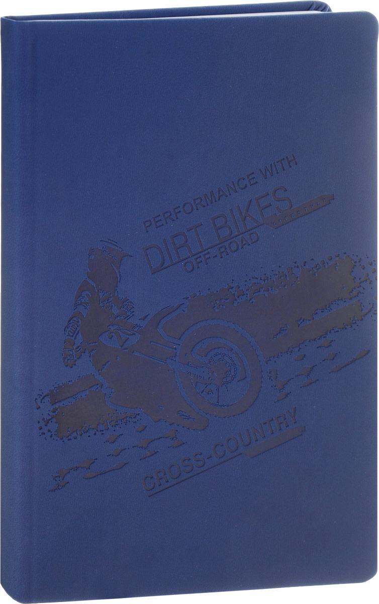 Brauberg Бизнес-блокнот Sport 128 листов в клетку цвет темно-синий125220_темно-синийБизнес-блокнот Brauberg Sport - незаменимый атрибут современного человека, необходимый для рабочих и повседневных записей в офисе и дома.Обложка блокнота выполнена из износоустойчивой искусственной кожи. Блокнот с закругленными уголками содержит 128 листов формата А5 с разметкой в клетку. Имеет закладку-ляссе.Бизнес-блокнот станет достойным аксессуаром среди ваших канцелярских принадлежностей. Такой блокнот пригодится как для деловых людей, так и для любителей записывать свои мысли, писать мемуары или делать наброски новых стихотворений.