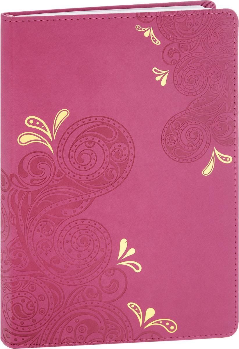 Brauberg Бизнес-блокнот Orient 128 листов в клетку цвет розовый125236_розовыйБизнес-блокнот Brauberg Orient - незаменимый атрибут современного человека, необходимый для рабочих и повседневных записей в офисе и дома.Обложка блокнота выполнена из износоустойчивой искусственной кожи, прошитой по периметру. Блокнот с закругленными уголками содержит 128 листов формата А5 с разметкой в клетку. Имеет закладку-ляссе.Бизнес-блокнот станет достойным аксессуаром среди ваших канцелярских принадлежностей. Такой блокнот пригодится как для деловых людей, так и для любителей записывать свои мысли, писать мемуары или делать наброски новых стихотворений.