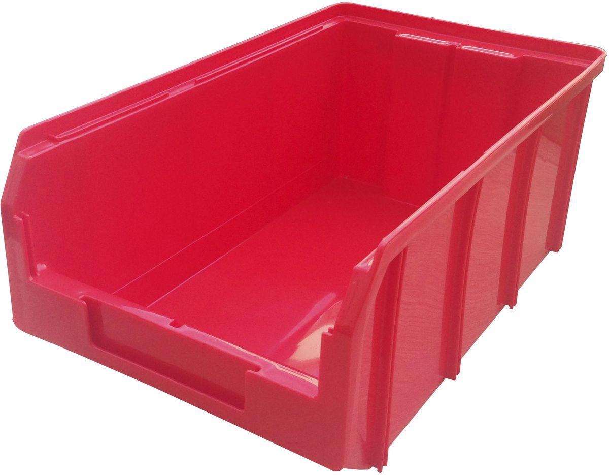Ящик пластиковый Стелла V-3, цвет: красный, 34,1 х 20,7 х 14,3 смV-3 красныйПластиковый ящик Стелла V-3 используется на складах для хранения мелких предметов. Лоток имеет возможность наращивания передней стенки и размещения дополнительных разделительных перегородок. Имеется карман на лицевой панели, в котором можно разместить быстросменный ярлык с информацией.Особенности:Объем: 9,4 л. Удобные ручки для транспортировки. Дополнительные ребра жесткости на боковых стенках. Материал - ударопрочный пластик. Возможность штабелирования контейнеров друг на друга в высоту. Зацеп на задней стенке контейнера позволяет прочно фиксировать его на специальных стойках.