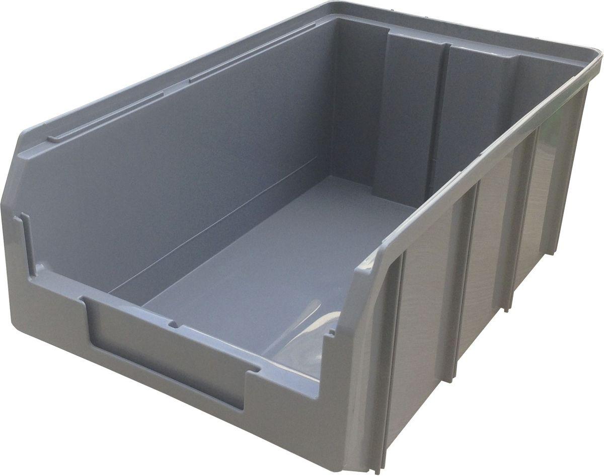 Ящик пластиковый Стелла V-3, цвет: серый, 34,1 х 20,7 х 14,3 смV-3 серыйПластиковый ящик Стелла V-3 используется на складах для хранения мелких предметов. Лоток имеет возможность наращивания передней стенки и размещения дополнительных разделительных перегородок. Имеется карман на лицевой панели, в котором можно разместить быстросменный ярлык с информацией.Особенности:Объем: 9,4 л. Удобные ручки для транспортировки. Дополнительные ребра жесткости на боковых стенках. Материал - ударопрочный пластик. Возможность штабелирования контейнеров друг на друга в высоту. Зацеп на задней стенке контейнера позволяет прочно фиксировать его на специальных стойках.