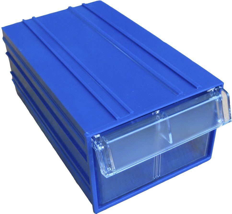 Короб пластиковый Стелла С-2, цвет: синий, прозрачный, 14 х 25 х 10 смС-2 синий/ прозрачныйПластиковый короб Стелла С-2 с выдвижными ящиками изготовлен из полипропилена и предназначены для хранения мелкоштучных изделий и комплектующих. Благодаря специальным пазам, возможно конструирование отдельных коробов в модули разных типоразмеров, в зависимости от планируемого месторасположения. Различная цветовая комбинация позволит красиво и практично организовать хранение и обеспечить быстрый доступ к нужному изделию.Размеры короба: 140 х 250 х 100 мм.