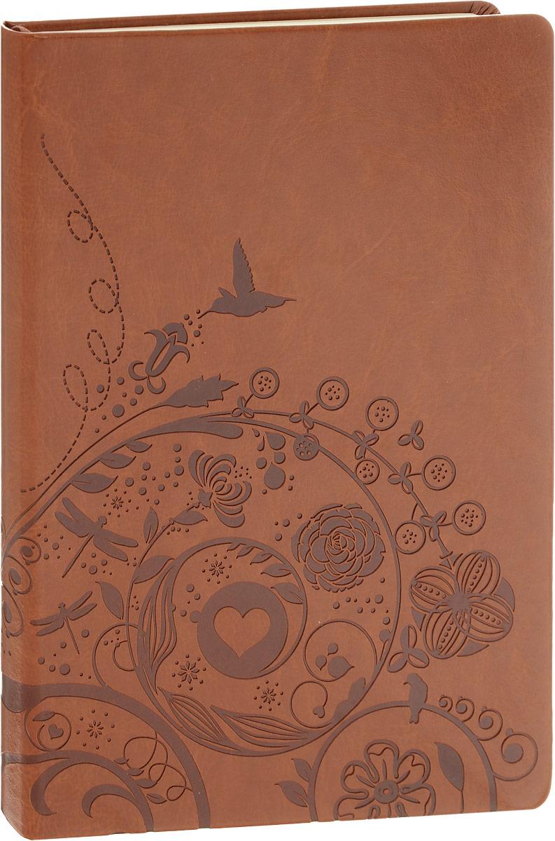 Brauberg Блокнот Feelings 128 листов в линейку цвет коричневый125237_коричневыйБизнес-блокнот Brauberg Feelings - незаменимый атрибут современного человека, необходимый для рабочих и повседневных записей в офисе и дома.Мягкая интегральная обложка кожа с тиснением. Блокнот с закругленными уголками содержит 128 листов кремовой бумаги формата А5 с разметкой в линейку. Имеет закладку-ляссе.Бизнес-блокнот станет достойным аксессуаром среди ваших канцелярских принадлежностей. Такой блокнот пригодится как для деловых людей, так и для любителей записывать свои мысли, писать мемуары или делать наброски новых стихотворений.