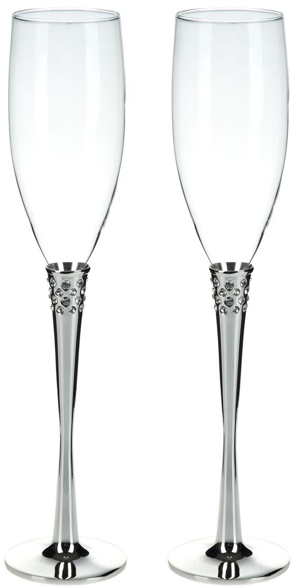 Набор бокалов для шампанского ENS Group Wedding, 200 мл, 2 шт. 5290007 ens group набор чашек coffe 200 мл