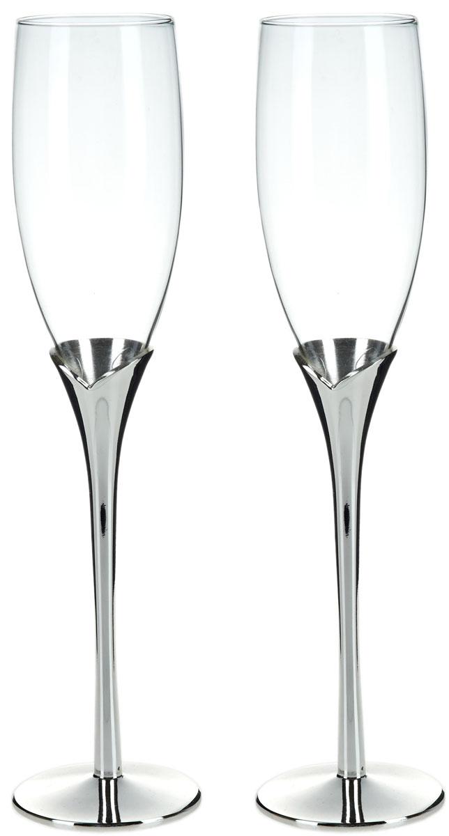 Набор бокалов для шампанского ENS Group Wedding, 200 мл, 2 шт. 5290015 набор бокалов для бренди коралл 40600 q8105 400 анжела