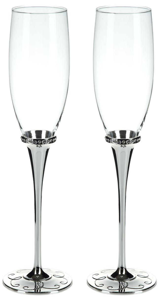 Набор бокалов для шампанского ENS Group Wedding, 200 мл, 2 шт. 5290018 набор бокалов для бренди коралл 40600 q8105 400 анжела