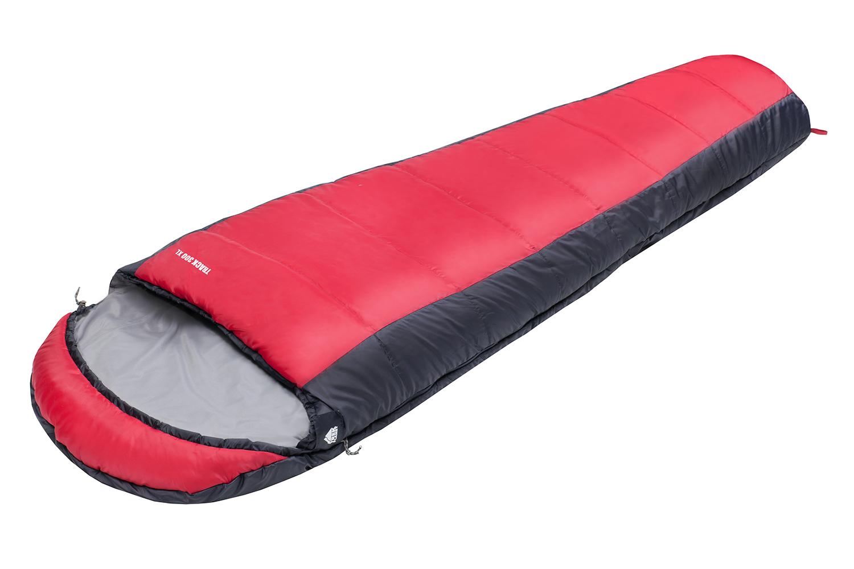 Спальный мешок TREK PLANET Track 300 XL, цвет: серый, красный, правосторонняя молния