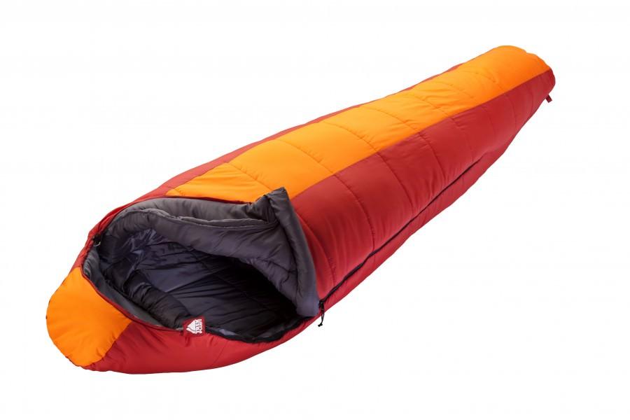 Спальник Trek Planet Norge, цвет: красно-орнажевый, левосторонняя молния
