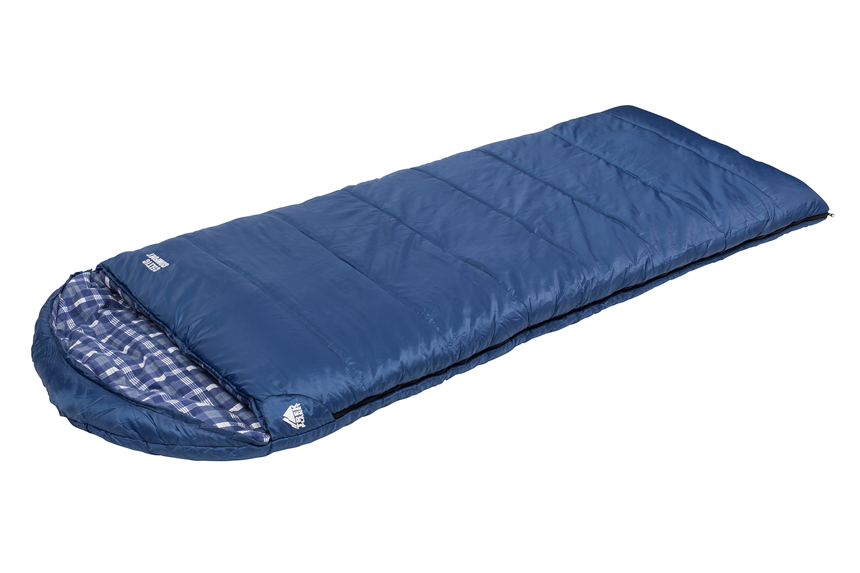 Спальник Trek Planet Celtic Comfort, цвет: синий, правосторонняя молния70365-RОчень комфортный, просторный и теплый спальник-одеяло с капюшоном Trek Planet Celtic Comfort имеет отличительную особенность: он чрезвычайно приятен в использовании, во многом, за счет внутреней фланели. Предназначен для походов и для отдыха на природе преимущественно в летнее время, но также и в весенне-осенний период. Большой и уютный капюшон обеспечивает повышеный комфорт и тепло в холодную погоду. Спальный мешок можно использовать как обычное одеяло. К несомненным достоинствам спальника можно отнести его повышенную комфортность и размер:спальник подходит для крупных и высоких туристов.Особенности спальника:Теплый капюшон анатомической формы,7-канальный наполнитель Hollow Fiber,Усиленный полиэстер RipStop,Двухсторонняя молния,Тепловой ворот,Мягкая фланель внутреннего материала,Термоклапан вдоль молнии,Внутренний карман,Возможно состегивание спальников между собой (левая и правая молнии).К спальнику прилагается компрессионный чехол для удобного хранения и переноски. Характеристики:Цвет:синий t° комфорта: 5°C t° лимит комфорт: 0°C t° экстрим: -10°C. Внешний материал: 100% полиэстер RipStop PU Внутренний материал: Фланель Утеплитель: Hollow Fiber 7Н 2x150 г/м2. Размер спальника: (200+30) см х 90 см. Размер в чехле: 28 см х 28 см х 42 см. Вес: 2,45 кг. Производитель: Китай. Артикул: 70365.