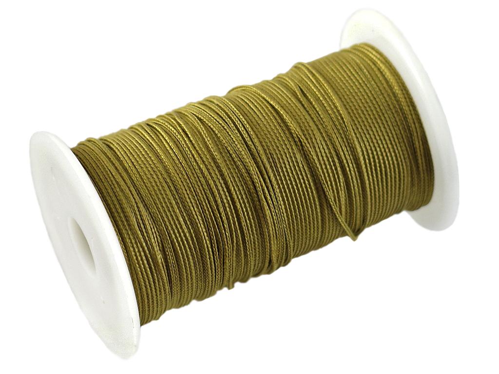 Нить кевларовая Solaris, на катушке, цвет: желтый, 1 мм х 100 м