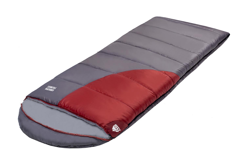 Спальник Trek Planet Dreamer Comfort, левосторонняя молния, цвет: темно-серый, бордовый
