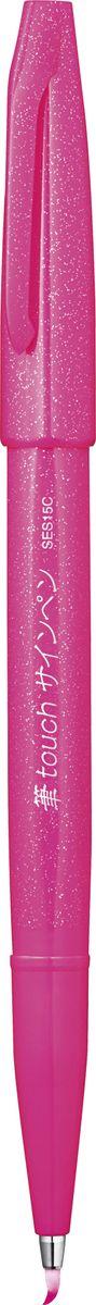 Pentel Маркер-кисть Brush Sign Pen цвет розовый pentel маркер