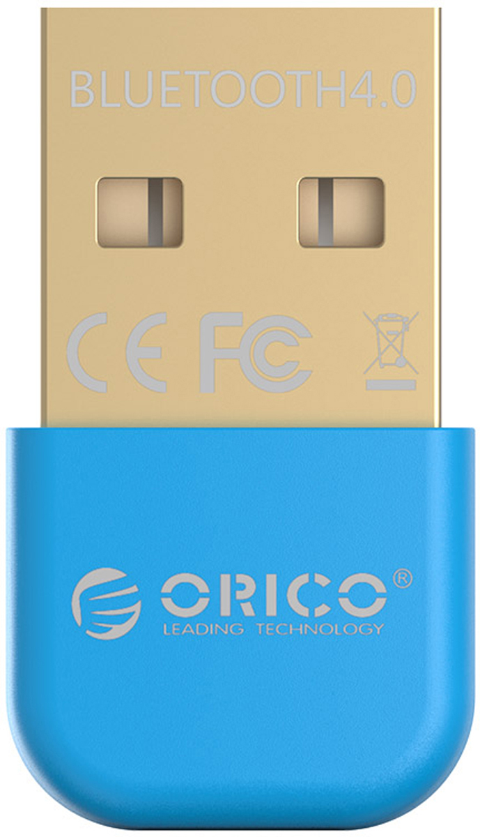 Orico BTA-403, Blue Bluetooth адаптерORICO BTA-403-BLOrico BTA-403 совместим с беспроводными колонками, клавиатурами, наушниками, цифровыми камерами и всеми другими устройствами с Bluetooth. Несмотря на свои компактные размеры, Orico BTA-403 может похвастаться зоной охвата в 20 метров (без препятствий) и скоростью передачи данных до 3 Мбит/сек.