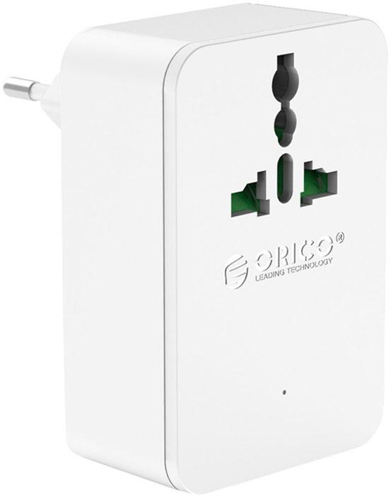 Orico S4U-TEU сетевое зарядное устройство, WhiteORICO S4U-TEU-WHOrico S4U - уникальное зарядное устройство с 4-мя USB портами плюс сетевой фильтр. Одновременная зарядка 4-х устройств. Интеллектуальная система распознавания подключенного устройства и распределения мощности. Технология синхронной ректификации увеличивает скорость преобразования энергии на 88%. Это снижает энергозатраты и нагрев. Корпус из огнестойкого ABS пластика. Безопасность для подключенных устройств: защита от перегрузки, короткого замыкания, перегрева, скачков напряжения, перезарядки.Характеристики:Тип устройства: Блок питанияМатериал корпуса: ABS-пластикИсточник питания: Сеть 220ВВыходы USB: USB Type AКоличество выходов USB: 4