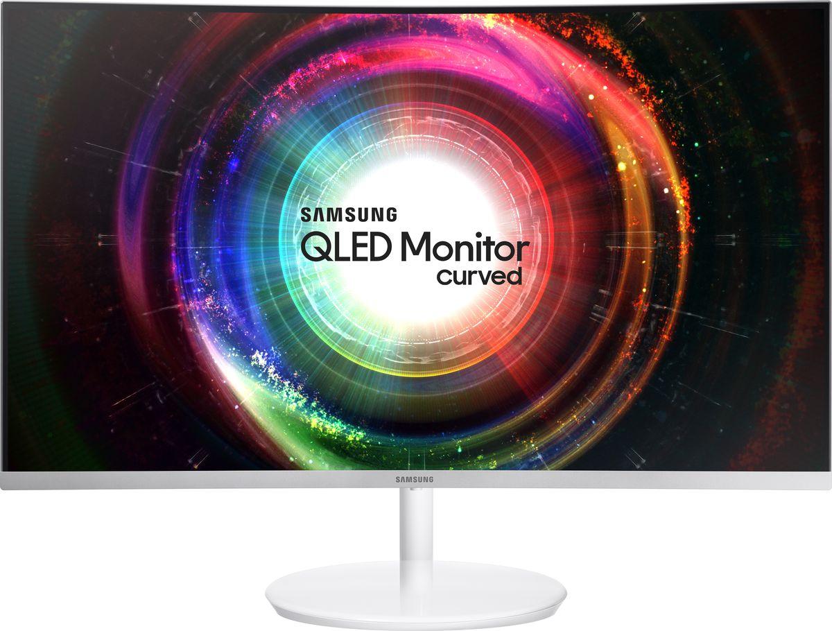 Samsung LC27H711QEI, White монитор монитор samsung s27f358fwi f358fwixci
