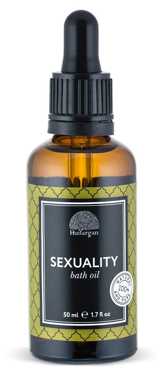 Huilargan Масло для ванны, сексуальность, 50 мл2990000005441Масло для ванны Антистресс Перед вами уникальный продукт, созданный для того, чтобы принятие ванны стало не только приятной процедурой, но и полезной. Состав масла для ванны бережно разработан нашими специалистами и несет в себе все полезные свойства масла арганы, миндаля и эфирных масел.Масло Арганы питает, заживляет и регенерирует кожу, масло миндаля тонизирует и увлажняет, наполняя кожу сиянием, а композиция высококачественных эфиров работает по принципу аромотерапии.Масло не растворяется полностью в воде, оставляя на теле защитную пленку, которая полезна для кожи, не оставляя следов жирности.С любовью подобранная композиция эфирных масел является шикарной аромотерапией и создана для того, чтобы снять стресс и расслабить Вас. Ладан, лимон, валерьяна – отлично успокаивают, снимают стресс, позволяя почувствовать гармонию и ощутить внутренний баланс.