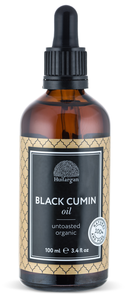 Huilargan Черный тмин, 100 мл2000000008684Масло черного тмина - чистое и натуральное масло, получаемое из семян черного тмина, первого холодного отжима, без химической обработки. Масло тмина оказывает антисептическое, антибактериальное, рассасывающее, противовоспалительное и противовирусное действие на кожу лица. Обладает еще эффективным противогрибковым действием, и может использоваться в лечении грибковых заболеваний кожи. Излечивает все виды дерматита, экземы, псориаза и многих других заболеваний кожи. Эффективным средством при угревой сыпи, и аллергических реакциях на коже лица. Снимает отечность лица , повышает эластичность и упругость кожи.