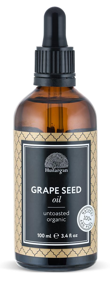 Huilargan Виноградная косточка масло, 100 млZ4402Масло виноградных косточек обладает увлажняющим, регенерирующим, антиоксидантным и витаминизирующим действием. Используйте для восстановления упругости увядающей кожи в области декольте и при похудении. Обладая тонизирующими свойствами, масло эффективно при целлюлите, помогает избавиться от купероза, варикоза, делает стенки кровеносных сосудов более эластичными, активируя кровообращение. Полезно масло виноградных косточек и для ломких, тусклых волос, для их укрепления его втирают в кожу головы, оно хорошо для ухода за окрашенными волосами, а также используется как бальзам для губ и средство для ухода за ногтями. Масло виноградных косточек богато микро- и макроэлементами, протеином, витаминами: и жирными кислотами.