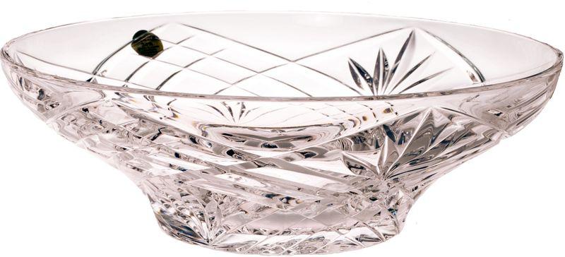Фруктовница RCR Орхидея, диаметр 24 смCI-231710RCR Cristalleria Italiana – известная во всем мире итальянская марка, которая выпускает предметы для сервировки стола и подарочные изделия из хрусталя. Как ни странно, RCR свою деятельность начинала еще с ремесленного производства, что сказывается на глубоких знаниях хрусталя, любви к этому материалу и мастерству изделий из этого материала.