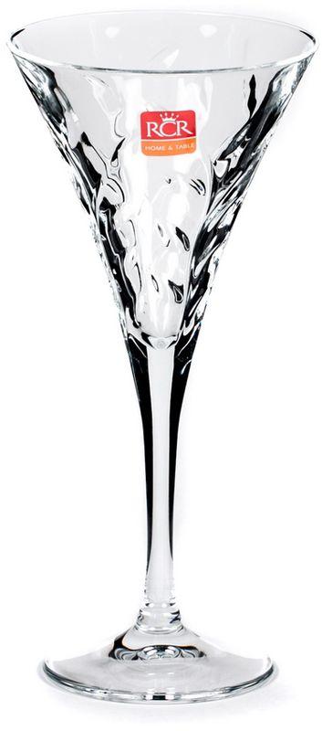 Набор бокалов для вина RCR Лаурус, 210 мл, 6 штCI-237800RCR Cristalleria Italiana – известная во всем мире итальянская марка, которая выпускает предметы для сервировки стола и подарочные изделия из хрусталя. Как ни странно, RCR свою деятельность начинала еще с ремесленного производства, что сказывается на глубоких знаниях хрусталя, любви к этому материалу и мастерству изделий из этого материала.