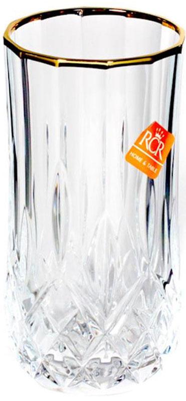 Набор стаканов RCR Опера, 240 мл, 6 штG-238670RCR Cristalleria Italiana – известная во всем мире итальянская марка, которая выпускает предметы для сервировки стола и подарочные изделия из хрусталя. Как ни странно, RCR свою деятельность начинала еще с ремесленного производства, что сказывается на глубоких знаниях хрусталя, любви к этому материалу и мастерству изделий из этого материала.