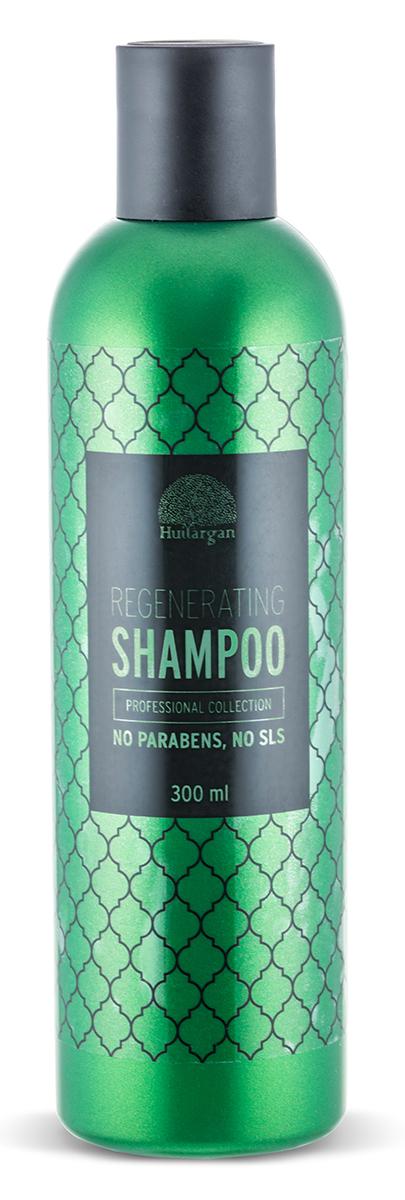 Huilargan Аргановый шампунь регенерирущий, 300 мл6111255941988Подходит для домашнего и салонного ухода. Действие: эффективно очищает кожу головы; нормализует работу сальных желез; препятствует выпадению волос; стимулирует рост волос. Не содержит парабенов, силиконов, сульфатов, синтетических красителей.