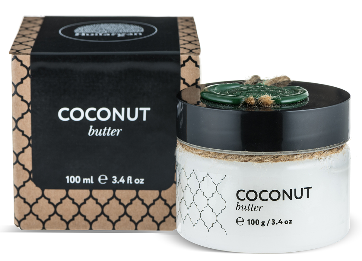 Huilargan Кокос масло, баттер, 100 г2990000004147Отличный питательный компонент, легко и быстро смягчает сухую кожу стоп,локтей, коленей, удерживает влагу вклетках сухой кожи. Очищает кожу отвсех загрязнений, его можно использовать для снятия макияжа. Разглаживаетморщины вокруг глаз и укрепляет ресницы, способствуя их росту и густоте.Укрепляет, питает и стимулирует ростволос. Укрепляет ломкие ногти.