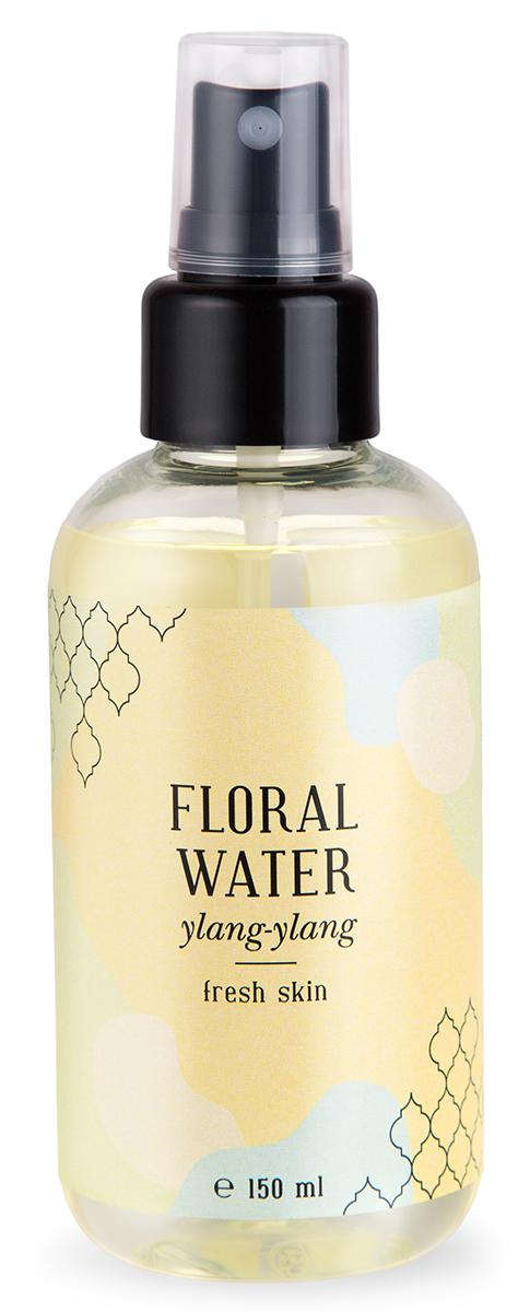 Huilargan Флоральная вода иланг иланг свежесть кожи, 150 мл парфюмированная вода montale orange flowers 20 мл