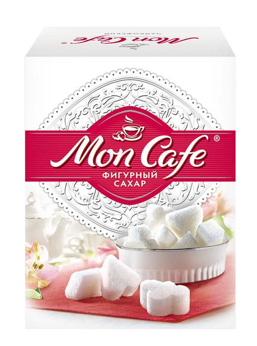 Чайкофский Mon Cafe сахар-рафинад фигурный, 500 г sugar box короны фигурный сахар 230 г