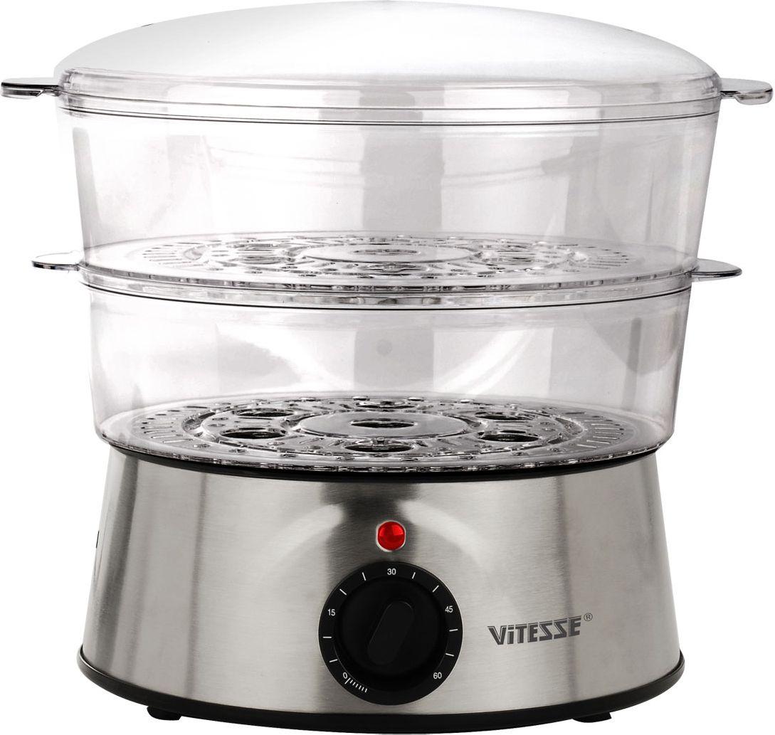 Vitesse VS-507VS-507Пароварка Vitesse VS-507 экономична и компактна. Простой дизайн и вместительные чаши помогут быстро приготовить полезную пищу на пару для вас и вашей семьи.