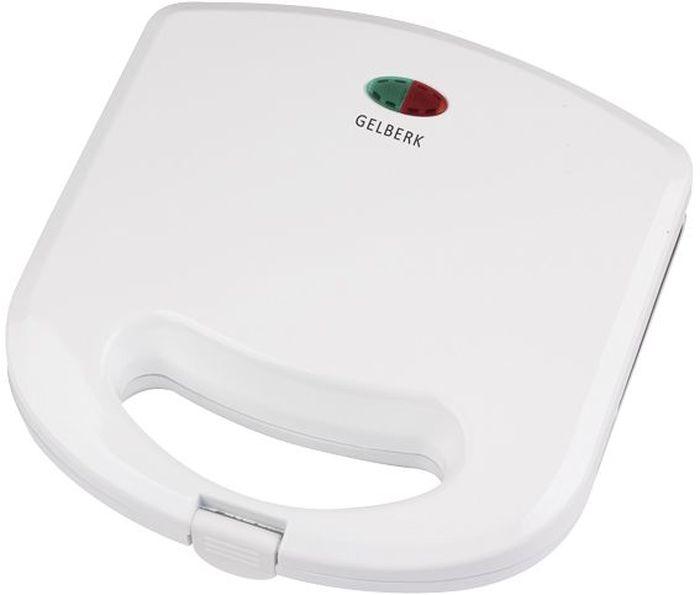 Gelberk Gl-551 вафельницаGL-551Вафельница Gelberk Gl-551 - это отличный компактный прибор для быстрого приготовления ароматных вкусных вафель.Для наилучшего пропекания в конструкции реализован равномерный прогрев рабочей поверхности с антипригарным покрытием. Не нагревающиеся ручки позволяют использовать вафельницу без риска обжечься, а система защиты от перегрева исключает повреждение прибора. Вафельница снабжена индикаторами работы и нагрева, а также специальными ножками для устойчивости. Прибор занимает минимум места, даже если не используется, поскольку для него предусмотрена возможность вертикального хранения с фиксатором ручек.С помощью вафельницы можно без особого труда получить вкуснейшие домашние вафли всего за несколько минут.