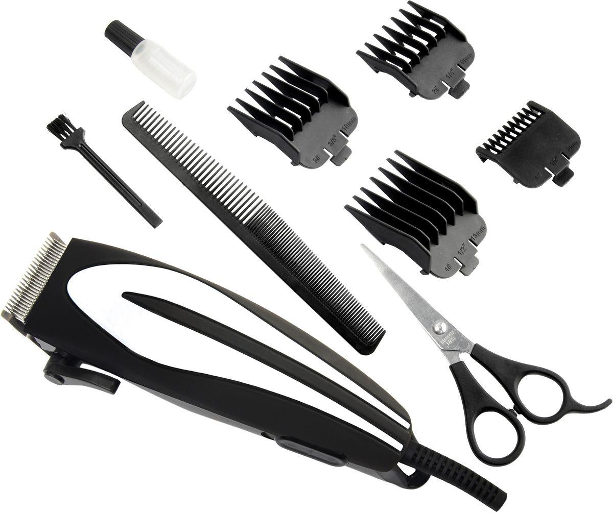 Gelberk GL-604 машинка для стрижки волосGL-604С помощью машинки для стрижки Gelberk GL-604 можно значительно сэкономить время на посещение парикмахера и сделать стрижу дома самостоятельно. Лезвия машинки выполнены из нержавеющей стали, что позволяет достичь бережного и качественного среза волос. Плавная регулировка длины стрижки осуществляется при помощи четырех насадок 3-12 мм, идущих в комплекте с устройством. Машинка Gelberk GL-604 работает от электросети, благодаря чему не нуждается в подзарядке и применении аккумуляторной батареи. Для более эффективной эксплуатации каждый покупатель данного аппарата также получит практичную расческу, ножницы, щеточку и масло для смазки лезвий. Петля для подвешивания позволит удобно хранить машинку рядом с местом использования.