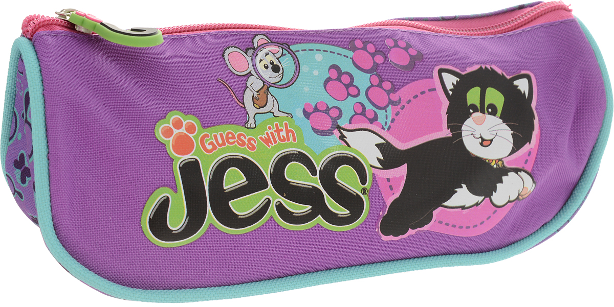 Guess with Jess Пенал цвет фиолетовый action пенал guess with jess