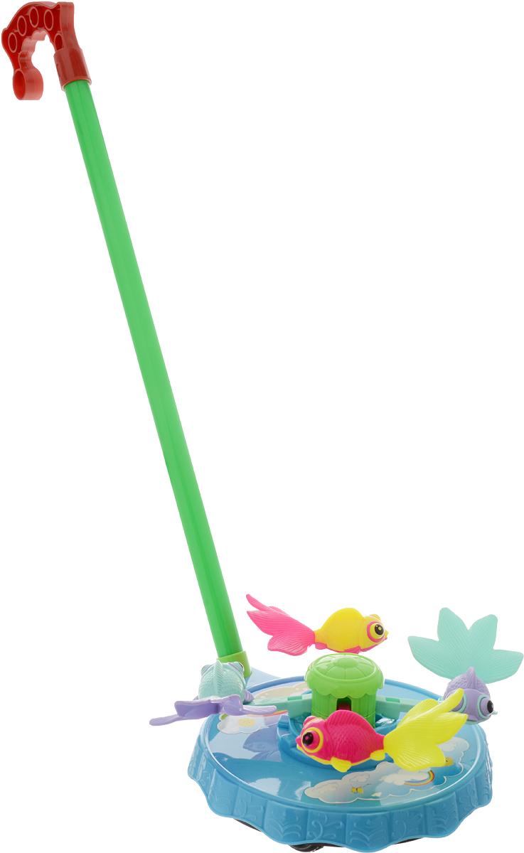 Тилибом Игрушка-каталка Рыбки цвет голубой elc каталка для малыша тигр