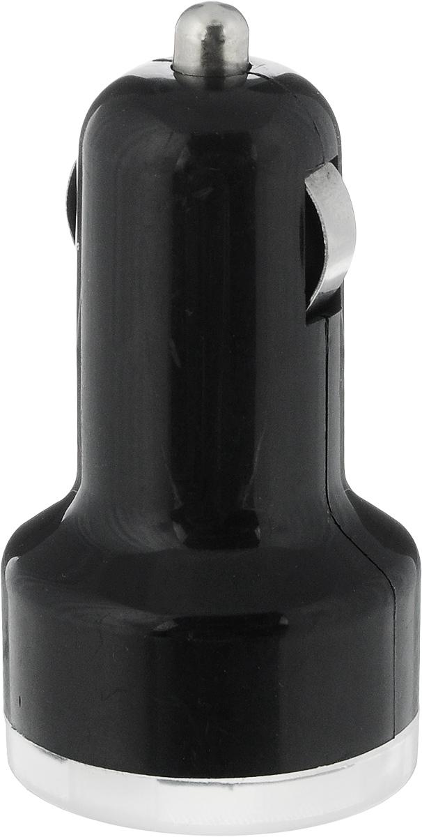 Устройство зарядное Триада USB-750, 2 гнезда, цвет: черный11323_черныйЗарядное устройство Триада USB-750 предназначено для зарядки современных устройств, в том числе для IPhone и IPad. Устройство гарантированно проходит все ступени проверки ОТК на работоспособность. Работает от автомобильного прикуривателя.Ток: 3 А.