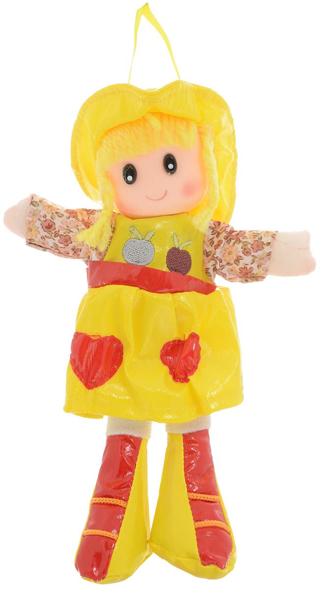 Sima-land Мягкая кукла цвет платья желтый