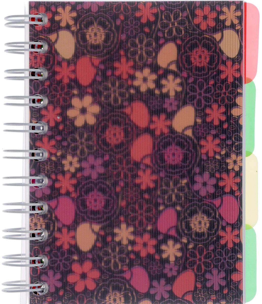 Brauberg Блокнот Кружево 150 листов в клетку цвет коричневый розовый125389_коричневый, розовыйСтильный женственный блокнот Brauberg Кружево с яркой обложкой для активных и энергичных леди.Удобные разделители позволяют лучше ориентироваться в записях, а пластиковая обложка защищает внутренний блок от износа и деформации.
