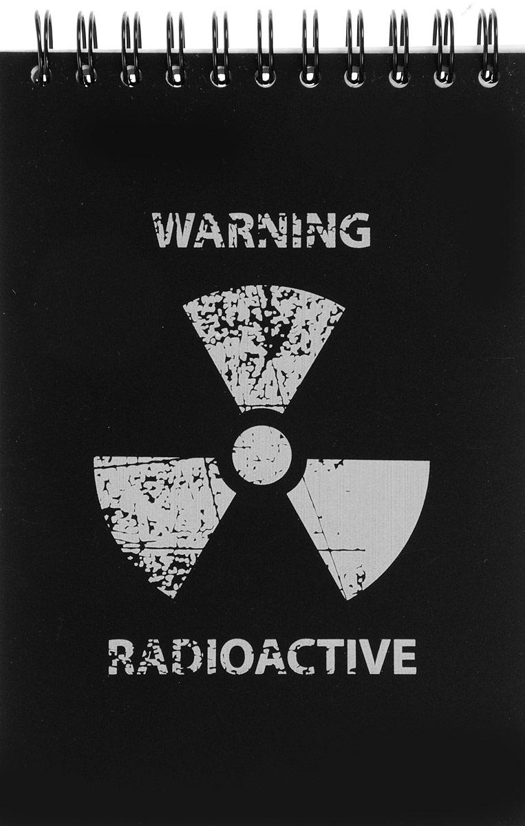 Brauberg Блокнот Экстрим Radioactive 80 листов в клетку рация моторола т 80 экстрим