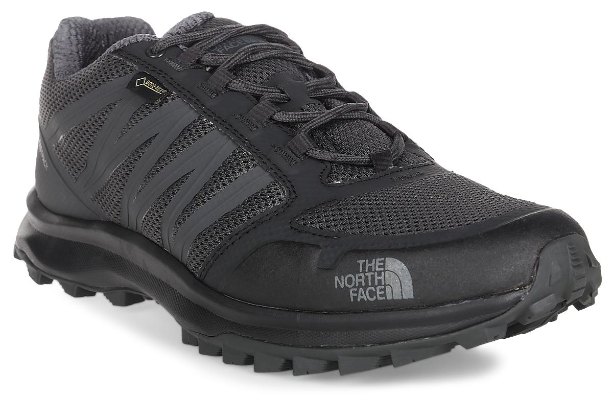 Кроссовки трекинговые мужские The North Face M Litewave Fp Gtx, цвет: черный. T92Y8UTFW. Размер 12H (46)T92Y8UTFWThe North Face - легкие и очень комфортные кроссовки. Удобная шнуровка, верх из сетчатой ткани - в этих кроссовках есть все для комфортного передвижения в течение всего дня. Рельефная поверхность подошвы гарантируют отличное сцепление на любых поверхностях. В таких кроссовках вашим ногам будет комфортно и уютно.