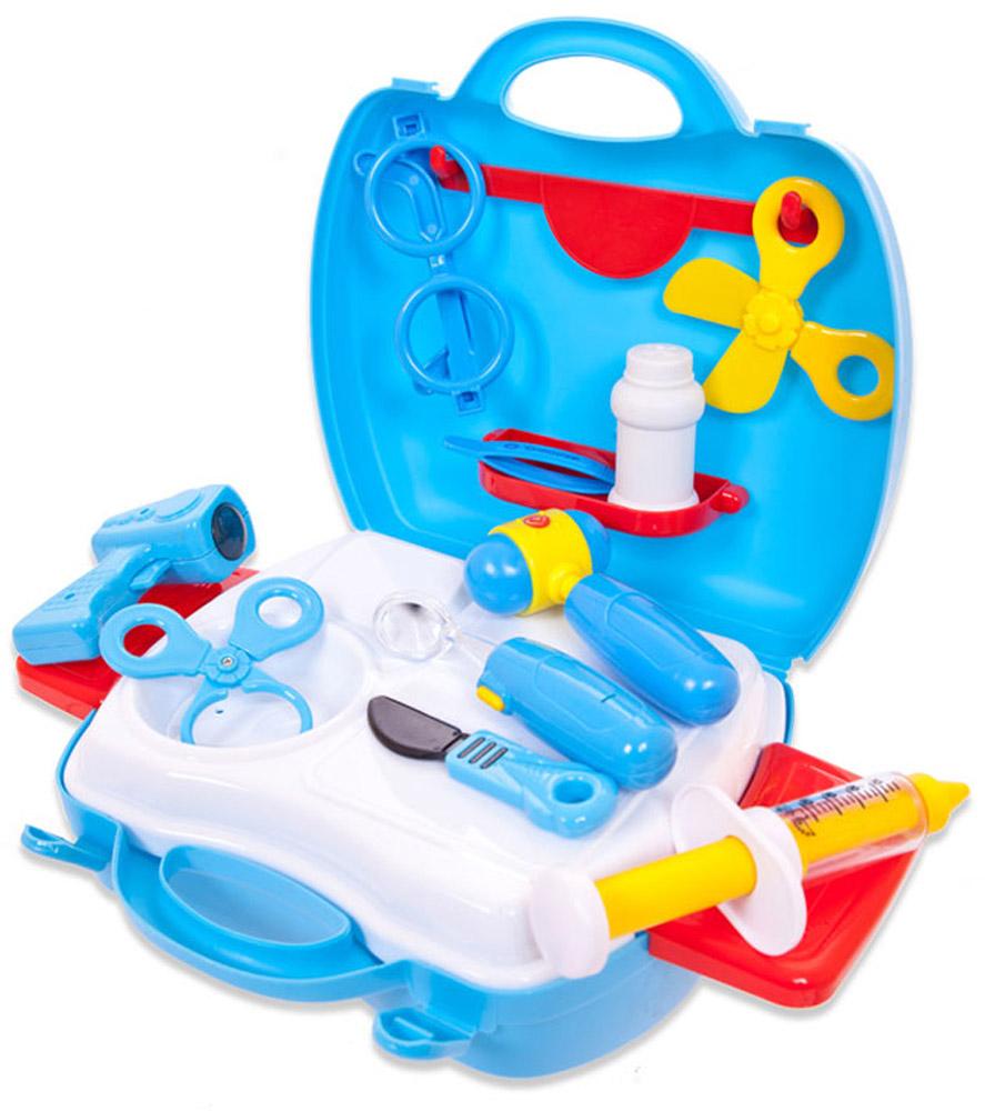 ABtoys Игровой набор Чудо-чемоданчик Доктор 18 предметов игровые наборы игруша набор плита на бат