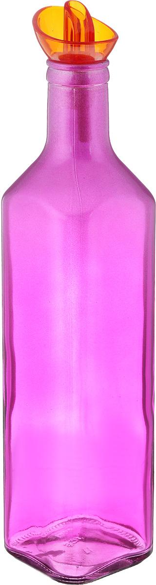 Емкость для масла Solmazer, цвет: сиреневый, 500 мл155132-000_сиреневыйЕмкость для масла Solmazer выполнена из качественногопрочного цветного стекла с декоративным сверкающимнапылением в верхней части. Она легка в использовании, стоиттолько перевернуть ее, и вы с легкостью сможете добавитьоливковое или подсолнечное масло, уксус или соус. Емкостьоснащена силиконовой пробкой с пластиковым дозатором.Пробка плотно закрывает горлышко, благодаря этому внутрисохраняется герметичность, и содержимое дольше остаетсясвежим.Диаметр горлышка: 3 см. Размер основания: 6 х 6 см. Высота емкости: 27 см.