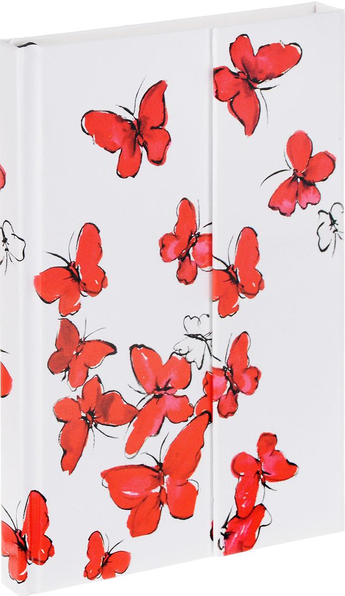 Brauberg Блокнот Tender Бабочки 80 листов в клетку125732_белый, красный, бабочкиБлокнот Brauberg Tender - это неотъемлемый атрибут делового человека, который ценит свое время и умеет правильно организовать свой трудовой день.Обложка выполнена в технике нанесения лака на печатный рисунок. Магнитный клапан защитит внутренний блок от повреждений и изящно дополнит общий образ.Внутренний блок - кремовая бумага в клетку. Блокнот оснащен закладкой-ляссе.