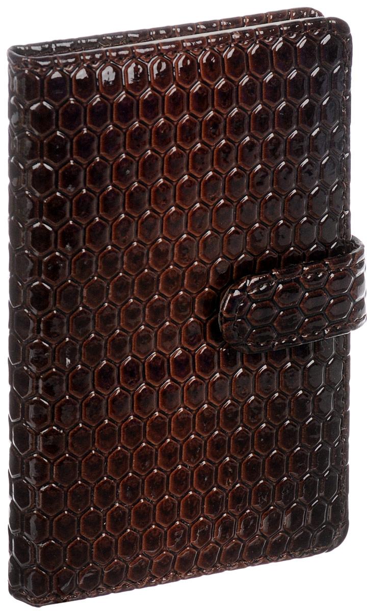 Brauberg Бизнес-блокнот Instinct 64 листа в линейку цвет коричневый125245_коричневыйБизнес-блокнот Brauberg Instinct на магнитной застежке - это неотъемлемый атрибут делового человека, который ценит свое время и умеет правильно организовать свой трудовой день.Лакированный винил с его манящим блеском наполняет бизнес-блокнот особым шармом, а насыщенный цвет придает аксессуару неподдельный шик.Блокнот прошит по периметру. Внутренний блок состоит из кремовой бумаги в линейку. Дополнен блокнот закладкой-ляссе.